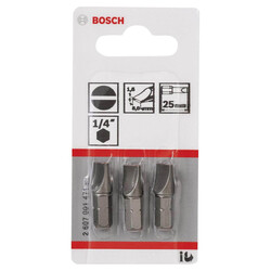 Bosch Extra Hard Serisi S1,6x8,0*25 mm 3'lü - Thumbnail
