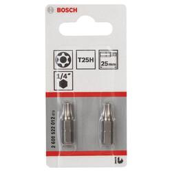 Bosch Extra Hard Serisi Security-Torx® Vidalama Ucu T25H*25 mm 2li - Thumbnail
