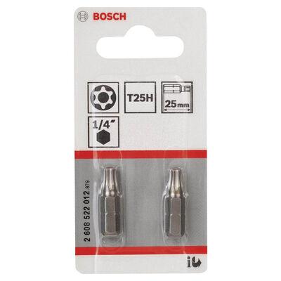 Bosch Extra Hard Serisi Security-Torx® Vidalama Ucu T25H*25 mm 2li BOSCH