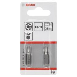 Bosch Extra Hard Serisi Security-Torx® Vidalama Ucu T27H*25 mm 2li - Thumbnail