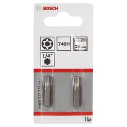 Bosch Extra Hard Serisi Security-Torx® Vidalama Ucu T40H*25 mm 2li - Thumbnail