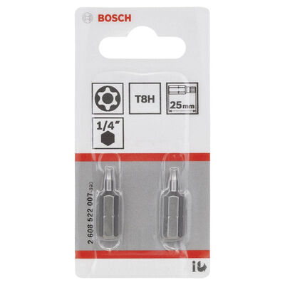Bosch Extra Hard Serisi Security-Torx® Vidalama Ucu T8H*25 mm 2'li BOSCH