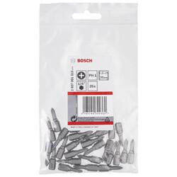 Bosch Extra Hard Serisi Vidalama Ucu PH1*25 mm 25'li - Thumbnail