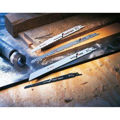 Bosch Flexible Serisi Ahşap Ve Metal için Panter Testere Bıçağı S 1122 HF - 5'li BOSCH