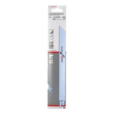 Bosch Flexible Serisi Metal için Panter Testere Bıçağı S 1122 BF - 5'li BOSCH