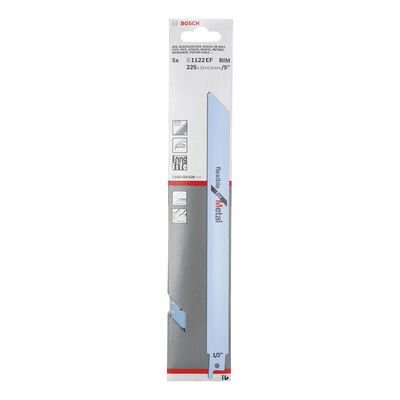 Bosch Flexible Serisi Metal için Panter Testere Bıçağı S 1122 EF - 5'li BOSCH