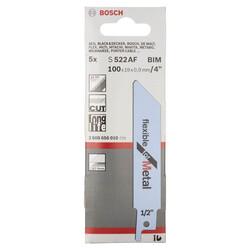 Bosch Flexible Serisi Metal için Panter Testere Bıçağı S 522 AF - 5'li - Thumbnail