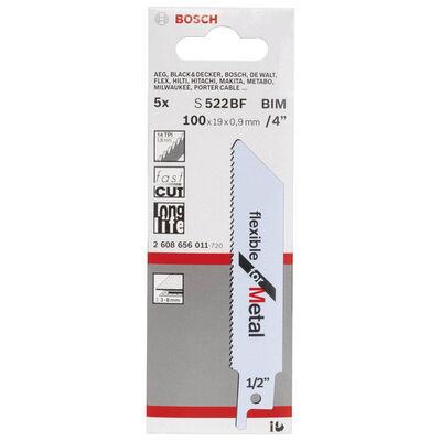 Bosch Flexible Serisi Metal için Panter Testere Bıçağı S 522 BF - 5'li BOSCH
