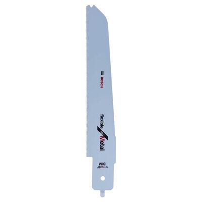 Bosch Flexible Serisi PFZ 500 E Uyumlu Ahşap ve Metal için Panter Testere Bıçağı M 1122 EF 1'li
