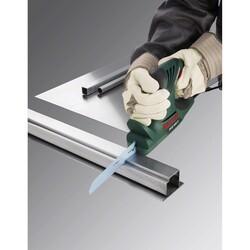 Bosch Flexible Serisi PFZ 500 E Uyumlu Ahşap ve Metal için Panter Testere Bıçağı M 1122 EF 1'li - Thumbnail
