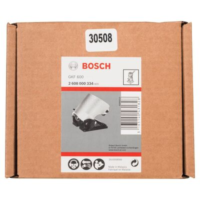 Bosch GKF 600 Yuvarlak Açılı Freze Ayağı BOSCH