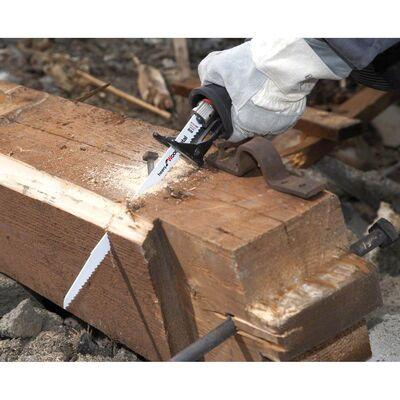 Bosch Heavy Serisi Ahşap Ve Metal için Panter Testere Bıçağı S 611 DF - 25'li BOSCH