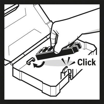 Bosch Hızlı Uç Değiştirme Mandrenli Üniversal Tutucu *60mm 1/4'' Altıgen Şaft