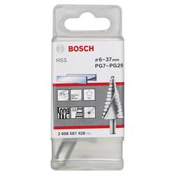 Bosch HSS 12 Kademeli Matkap Ucu PG7-PG29 - Thumbnail