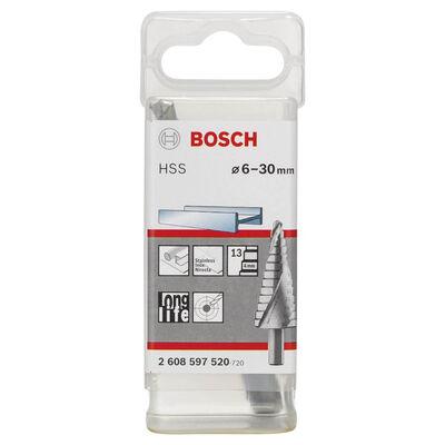 Bosch HSS 13 Kademeli Matkap Ucu 6-30 mm BOSCH
