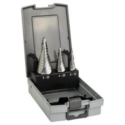 Bosch HSS 3'lü Pro-box 4-12,4-20,6-30 mm - Thumbnail