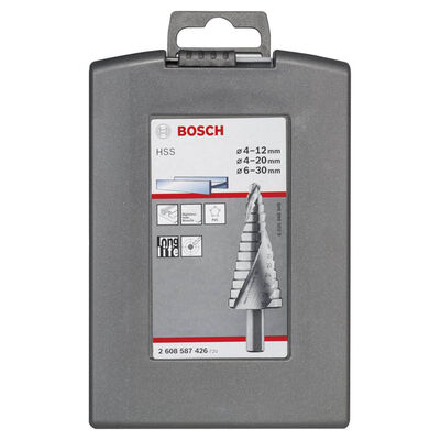 Bosch HSS 3'lü Pro-box 4-12,4-20,6-30 mm BOSCH