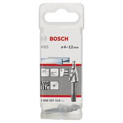 Bosch HSS 5 Kademeli Matkap Ucu 4-12 mm - Thumbnail