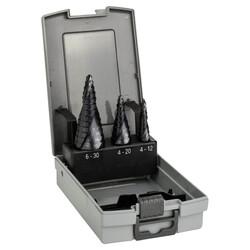 Bosch HSS-AlTiN 3'lü Pro-box 4-12,4-20,6-30 mm - Thumbnail
