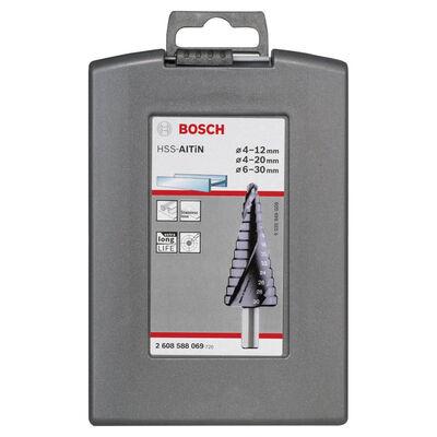 Bosch HSS-AlTiN 3'lü Pro-box 4-12,4-20,6-30 mm BOSCH