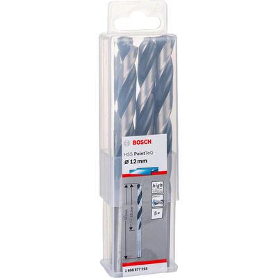 Bosch HSS-PointeQ Metal Matkap Ucu 12,0 mm 5'li BOSCH