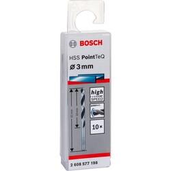 Bosch HSS-PointeQ Metal Matkap Ucu 3,0 mm 10'lu - Thumbnail