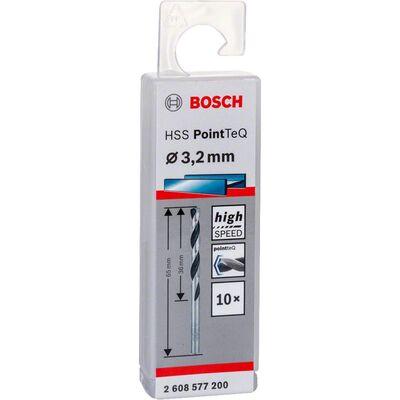 Bosch HSS-PointeQ Metal Matkap Ucu 3,2 mm 10'lu BOSCH