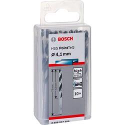 Bosch HSS-PointeQ Metal Matkap Ucu 4,1 mm 10'lu - Thumbnail