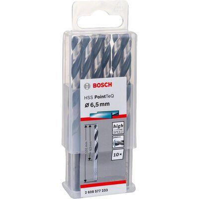 Bosch HSS-PointeQ Metal Matkap Ucu 6,5 mm 10'lu BOSCH