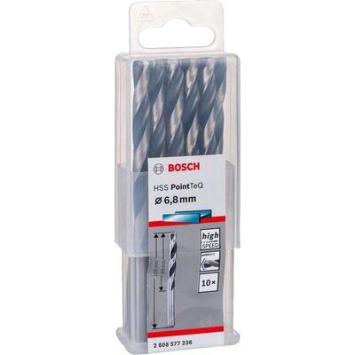 Bosch HSS-PointeQ Metal Matkap Ucu 6,8 mm 10'lu BOSCH