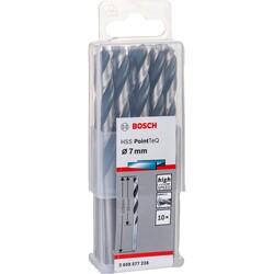 Bosch HSS-PointeQ Metal Matkap Ucu 7,0 mm 10'lu - Thumbnail