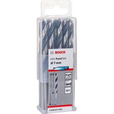 Bosch HSS-PointeQ Metal Matkap Ucu 7,0 mm 10'lu BOSCH