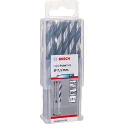 Bosch HSS-PointeQ Metal Matkap Ucu 7,1 mm 10'lu - Thumbnail
