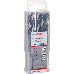 Bosch HSS-PointeQ Metal Matkap Ucu 7,2 mm 10'lu - Thumbnail
