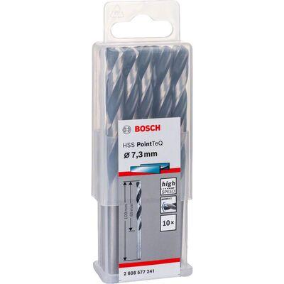 Bosch HSS-PointeQ Metal Matkap Ucu 7,3 mm 10'lu BOSCH