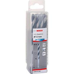 Bosch HSS-PointeQ Metal Matkap Ucu 7,7 mm 10'lu - Thumbnail