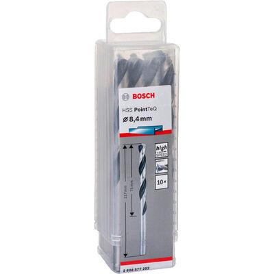 Bosch HSS-PointeQ Metal Matkap Ucu 8,4 mm 10'lu BOSCH