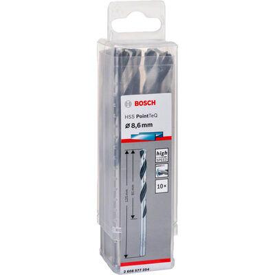 Bosch HSS-PointeQ Metal Matkap Ucu 8,6 mm 10'lu BOSCH