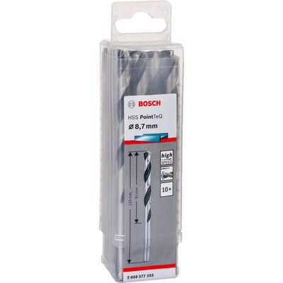Bosch HSS-PointeQ Metal Matkap Ucu 8,7 mm 10'lu BOSCH