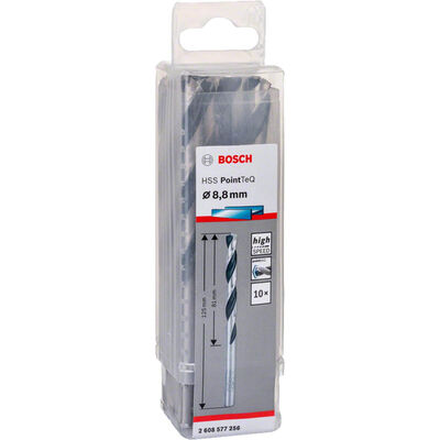 Bosch HSS-PointeQ Metal Matkap Ucu 8,8 mm 10'lu BOSCH
