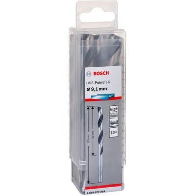 Bosch HSS-PointeQ Metal Matkap Ucu 9,1 mm 10'lu BOSCH