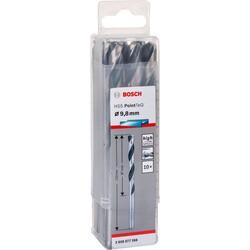 Bosch HSS-PointeQ Metal Matkap Ucu 9,8 mm 10'lu - Thumbnail
