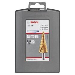 Bosch HSS-TİN 3'lü Pro-box 4-12,4-20,6-30 mm - Thumbnail