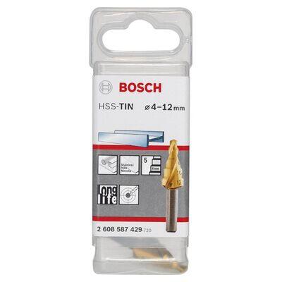 Bosch HSS-TiN 5 Kademeli Matkap Ucu 4-12 mm BOSCH