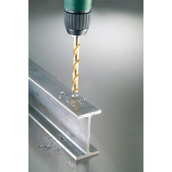 Bosch HSS-TiN Metal Matkap Ucu 8*117 mm - Thumbnail