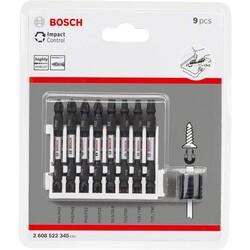 Bosch Impact Control Serisi Çift Taraflı Vidalama Ucu 9'lu Set *65mm - Thumbnail