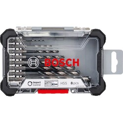 Bosch Impact Control Serisi HSS Metal Matkap Ucu Seti 8'li - Thumbnail
