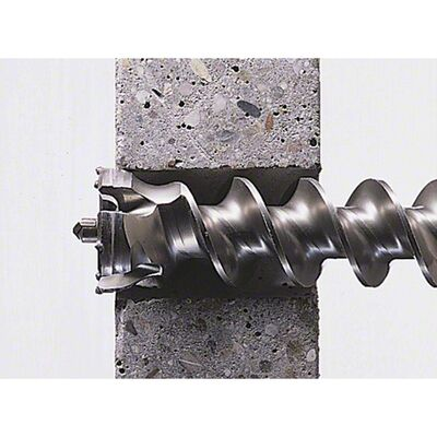 Bosch Max-9 Serisi, Büyük Delikler için Kırıcı Delici Ucu 55*1000 mm BOSCH