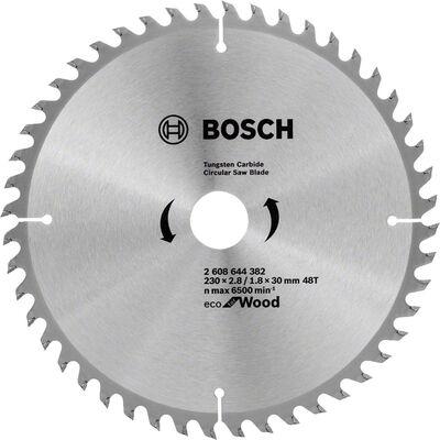 Bosch Optiline Eco Serisi Ahşap için Daire Testere Bıçağı 230*30 48 Diş