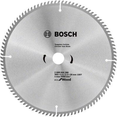 Bosch Optiline Eco Serisi Ahşap için Daire Testere Bıçağı 305*30 100 Diş